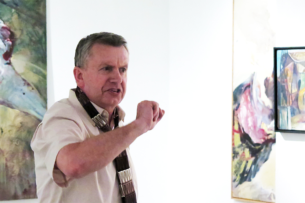 Miroslav Koupil na Zámku Třebíč vystaví své -gramy