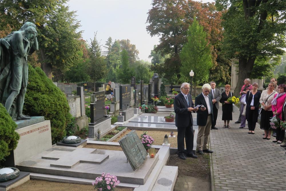 V Jaroměřicích vzpomenuli svého nejslavnějšího občana, O. Březinu
