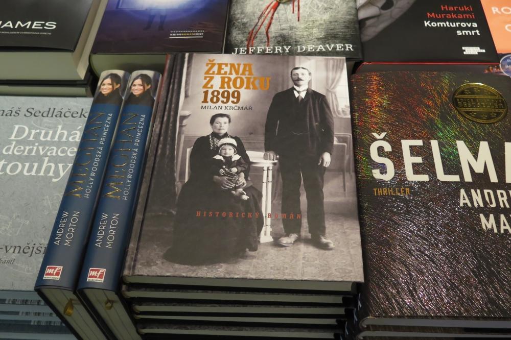 Autogramiáda knihy o Třebíči ve středu v knihkupectví Jakuba Demla