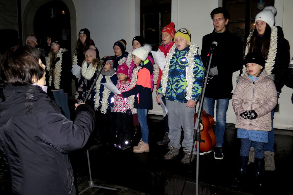 I Třebíčané se zapojili do akce Česko zpívá koledy