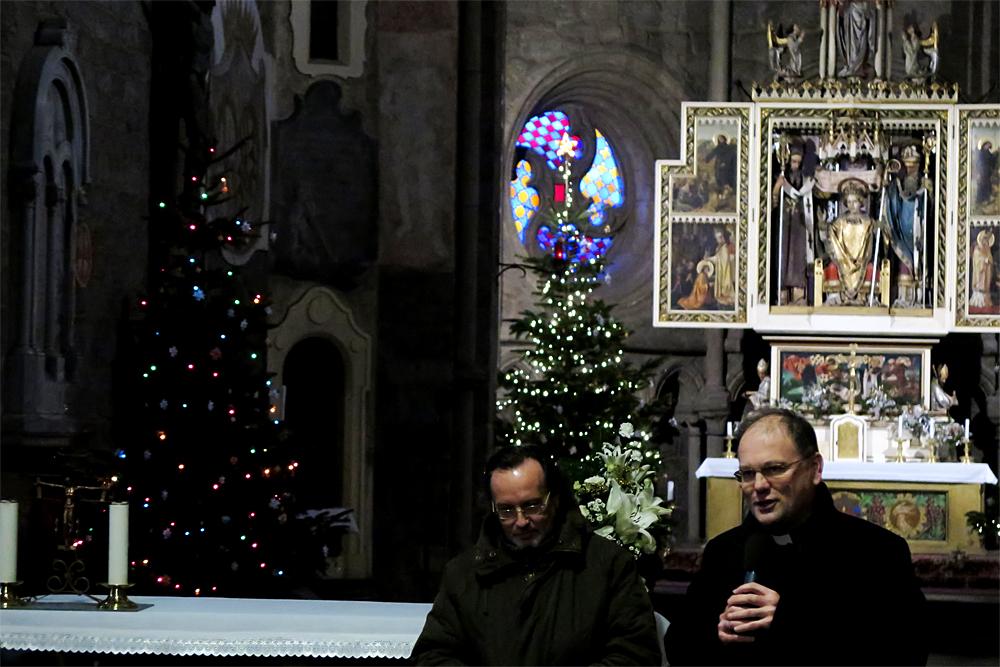 Novoroční koncert v bazilice byl ve znamení trojek