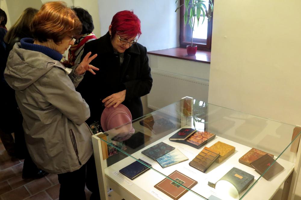 Výstava k nedožitým osmdesátinám mistra knižní vazby