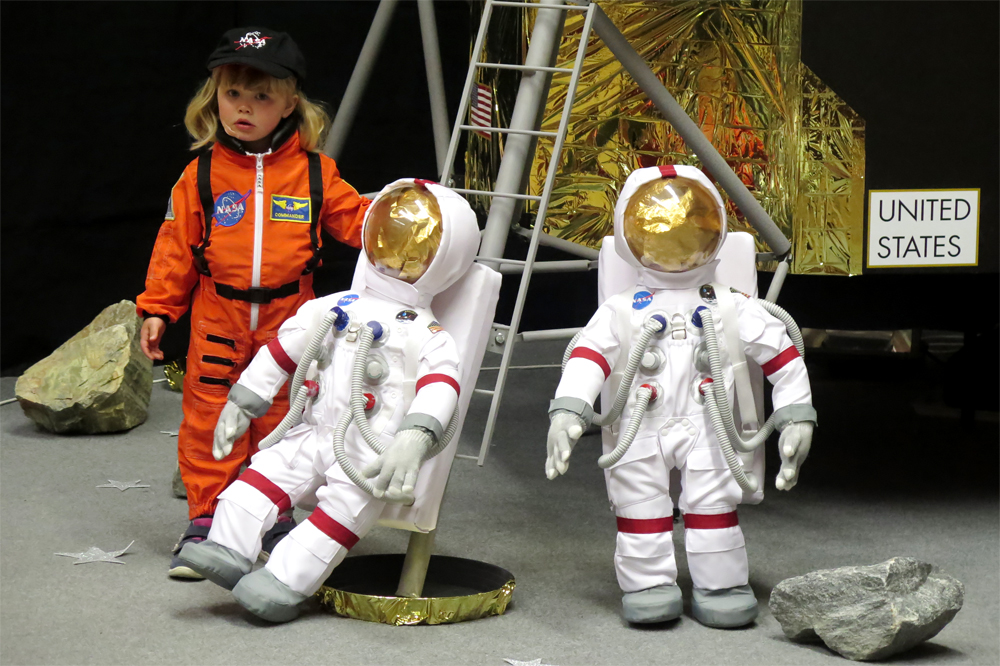 Děti si v Náměšti mohly vlézt do Apolla 11