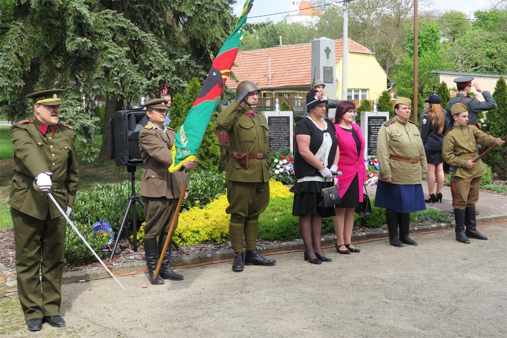 Občané Rešic si Den vítězství připomenuli vskutku důstojně
