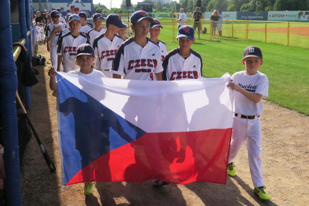 V Třebíči začalo baseballové mistrovství Evropy do 12 let