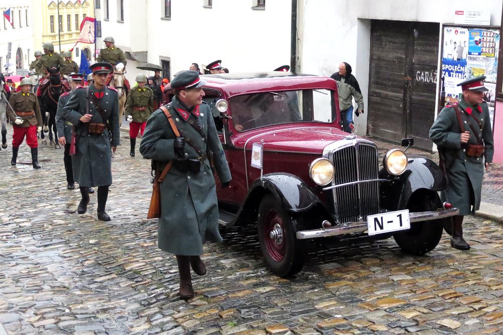 Třebíčské židovské město se přesune do časů první republiky