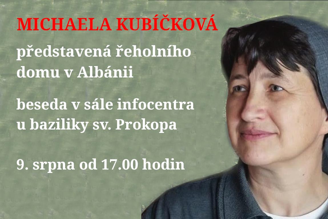 Na besedě se dovíte, jak se žije řeholním sestrám v Albánii