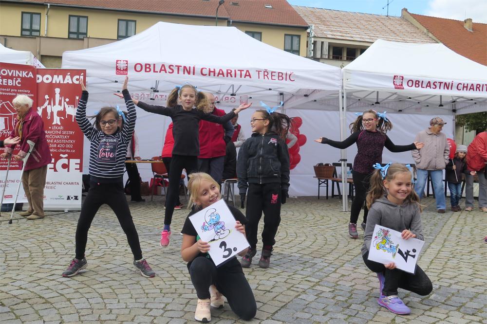 Den Charity v Třebíči tentokrát trochu jinak
