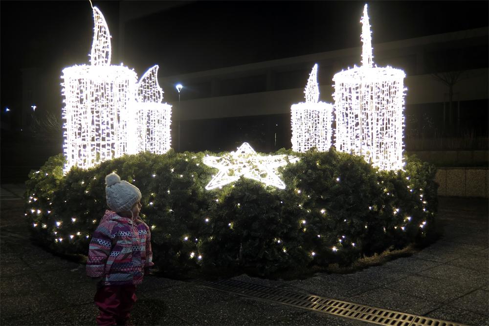 Třebíč se letos může pochlubit novou vánoční výzdobou