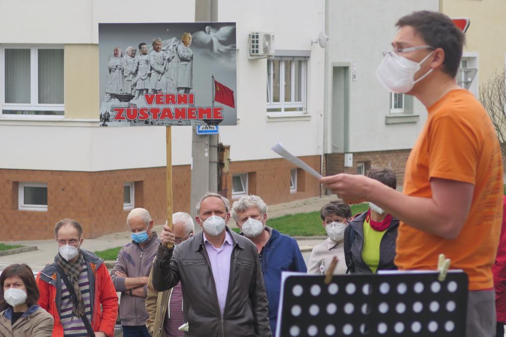 I v Třebíči se lidem nelíbí proruské tendence prezidenta Zemana