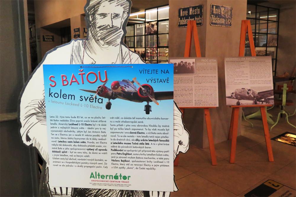 V Alternátoru začala výstava o Baťově cestě kolem světa